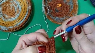 Секреты вязания шляпок в разных пряжах крючком МК 1
