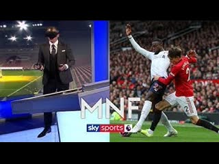 Jamie Carragher uses virtual reality to see Origi 'foul' through referee's eyes | MNF