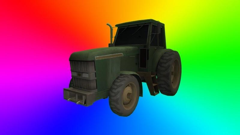Driveable Tractor! | Gmod Addon Showcase