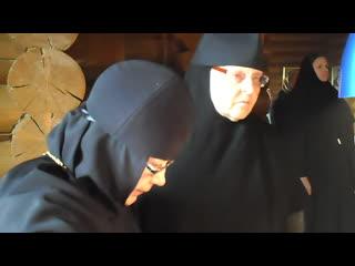 Божественная литургия 21 октября 2017 г. Монахиня Есфирь (Стрельникова).