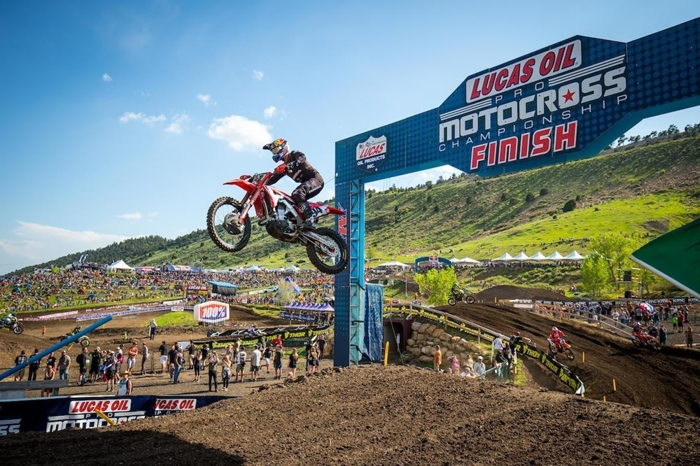 AMA Motocross 2019, этап 3 - Thunder Valley (результаты, фото, видео)