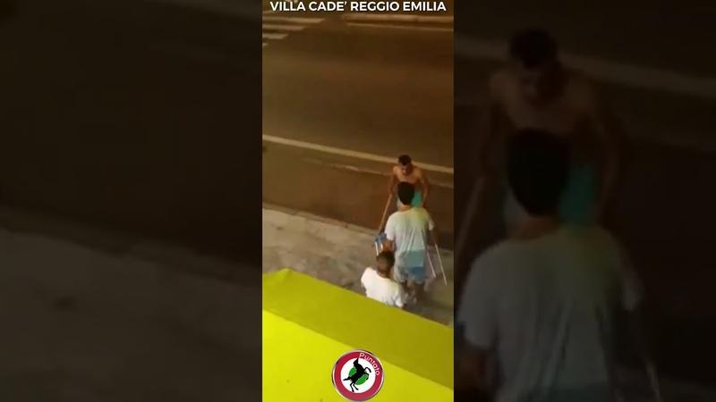 Italie un Marocain agresse la serveuse d'un bar et tente d'écraser les clients