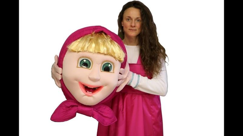 Hi! I make mascots, now meet Masha mascot costume