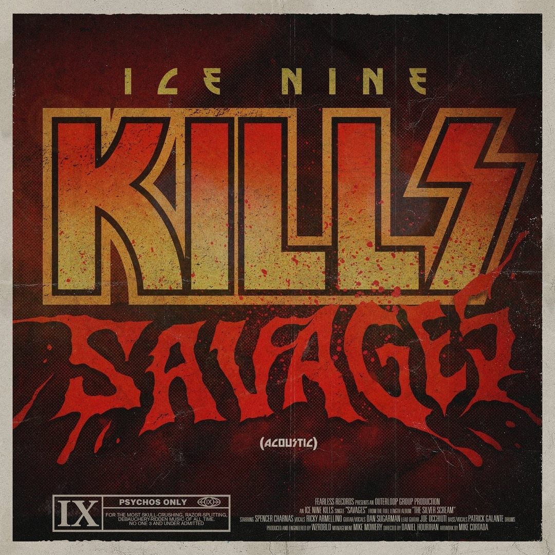 Ice Nine Kills - SAVAGES (Single)