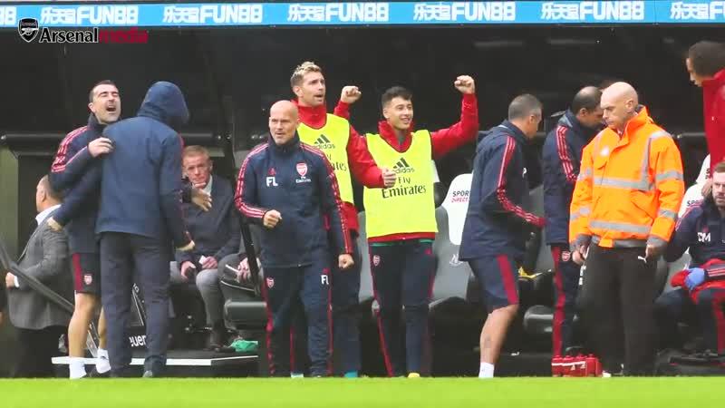 Access All Areas - Newcastle v Arsenal - Pepe, Ceballos Martinelli make their PL debuts