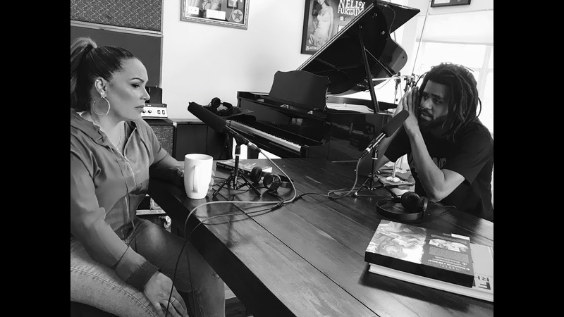 J Cole x Angie Martinez Interview at Salaam's House