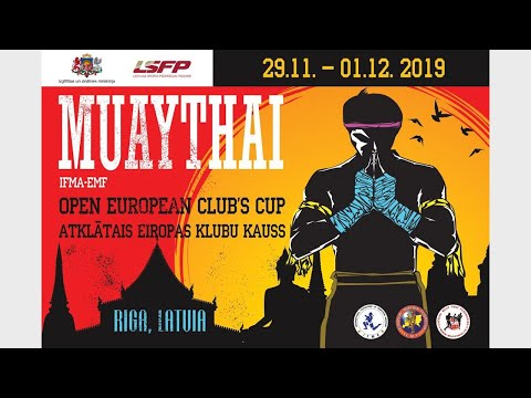 Open European Muaythai Club's Cup 2019 I 30.11.2019