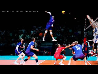 Most Amazing Spikes In Volleyball 2019 HD