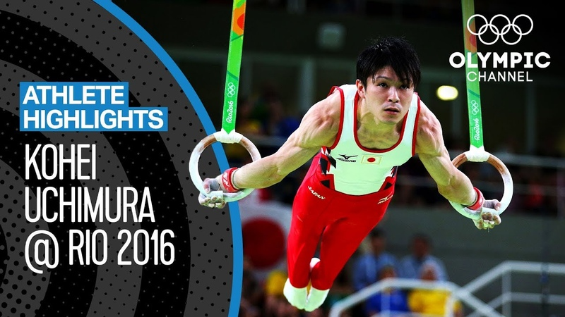 All Kohei Uchimura Medal Routines at Rio 2016 Athlete Highlights