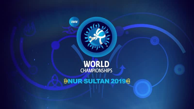Чемпионат мира по греко-римской, вольной и женской борьбе будет проводиться с 14 – 22 сентября 2019 г. в городе Нур-Султан.