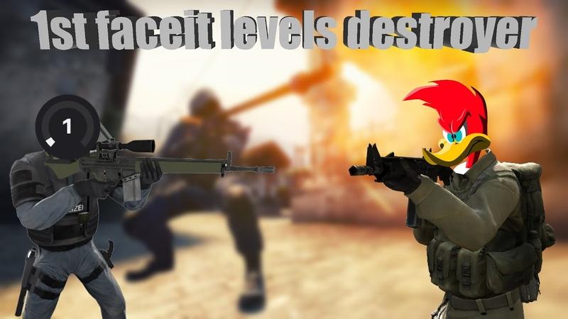 [CSGO] 1st faceit levels destroyer