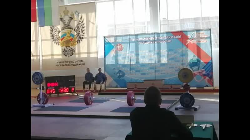 2 этап Спартакиады Шишин Дмитрий
