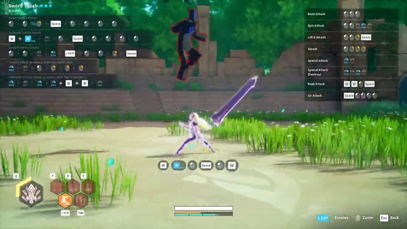 KurtzPel: (Asia) - Bow Combo with Spirit Arrow