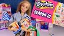 За продуктами в магазин с Барби / ШОПКИНС 10 СЕЗОН Shopkins small mart