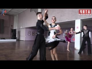 """Студия бального танца ХИП-ТВИСТ. Подготовка к турниру """"Разрешите пригласить"""""""