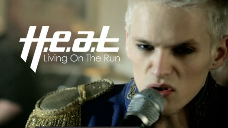 H.e.a.t Living On The Run 2012