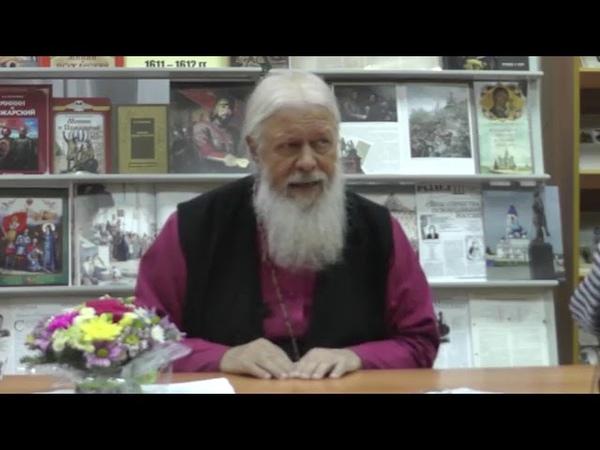 Интервью Преосвященнейшего Августина епископа Городецкого и Ветлужского