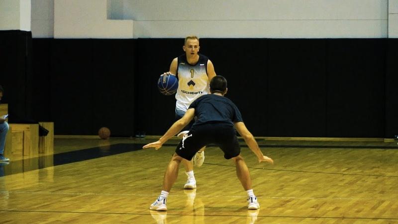 Баскетболисты Роснефти провели тренировку в формате King of Kings