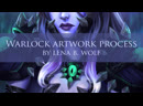 Warlock Artwork process