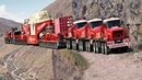 World Dangerous Monster Trucking Moments Oversize Truck Transport Extreme Machine Modern Equipment
