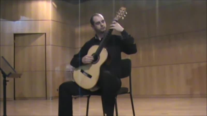 Nikita Koshkin The ballads,part III con moto. Alexandros Kritikos (Ciprus)