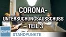 Corona-Untersuchungsausschuss – Teil 3 | Von Jochen Mitschka