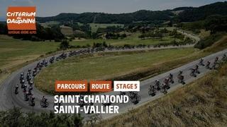 Critérium du Dauphiné 2021 - Découvrez l'étape 5