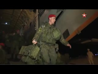 Прибытие в Сирию еще 300 военнослужащих из России (25 октября 2019) :
