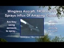 Wingless Aircraft - TR3B (Or ) Chemtrails Amazing Cloud Influx - 13th April 2019