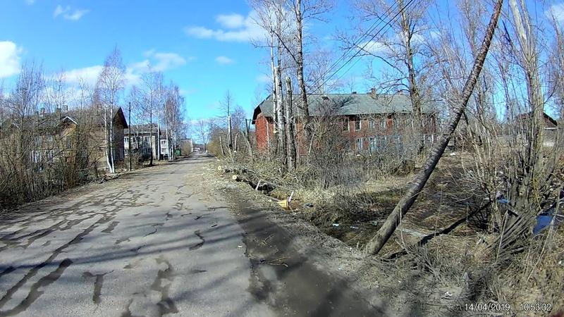 Спиливание аварийных деревьев на Красноармейской улице