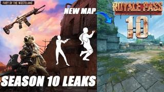 Season 10 Royale Pass Leaks & Update  Beta Pubg Mobile