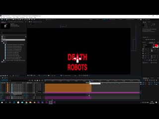 Love Death and Robots intro - After Effects tutorial   part3