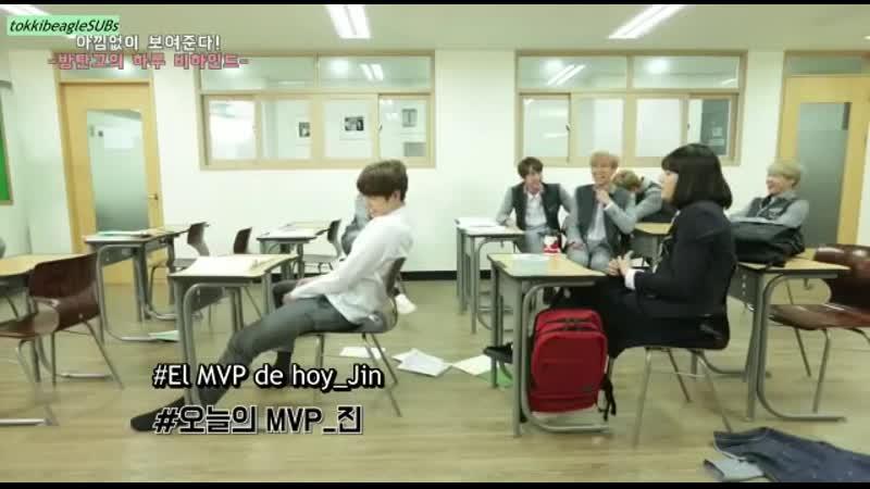 BTS regresa a la escuela cap 3 sub esp
