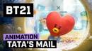 BT21 Happy UNIVERSTAR Holidays TATA's MAIL