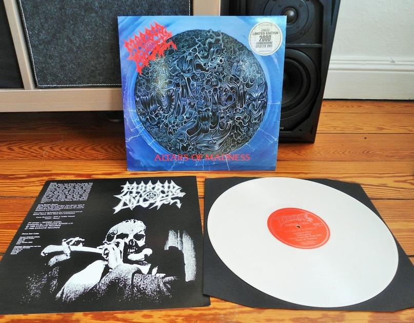 Morbid Angel — Altars Of Madness | ВКонтакте