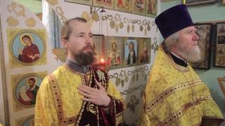 Митрополит Брянский и Севский Александр возглавил Литургию в храме иконы Божией Матери Свенская.