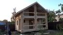 Сруб бани 6 3х6 3м с крыльцом и балконом под крышей Ульяновка Цена в СПб 323 024 руб