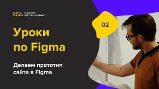 Урок по Figma. 2-часть. Делаем прототип. Moscow Digital Academy