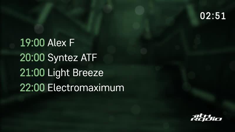 Alex F and Syntez ATF / Light Breeze and Electromaximum - Live @ Технология Прошлого / Pulse (13.08.2019)