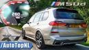 BMW X7 M50d ACCELERATION TOP SPEED 0-260KMH 0-162MPH DRAGY GPS by AutoTopNL