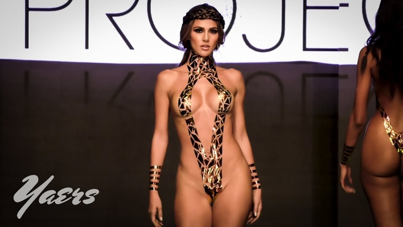 The Black Tape Project Swimwear Tape Art Fashion Show Miami Swim Week 2019 Art Hearts Fashion