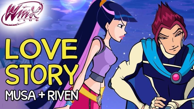 Winx Club Musa and Riven's love story from Season 1 to Season 6 смотреть онлайн без регистрации