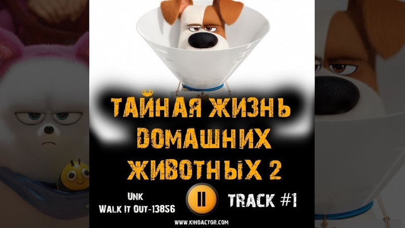 ТАЙНАЯ ЖИЗНЬ ДОМАШНИХ ЖИВОТНЫХ 2 мультфильм МУЗЫКА OST 1 Unk Walk It Out 13856