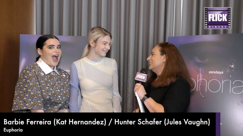 Euphoria's Hunter Schafer Barbie Ferreira Speak To Allison Rose