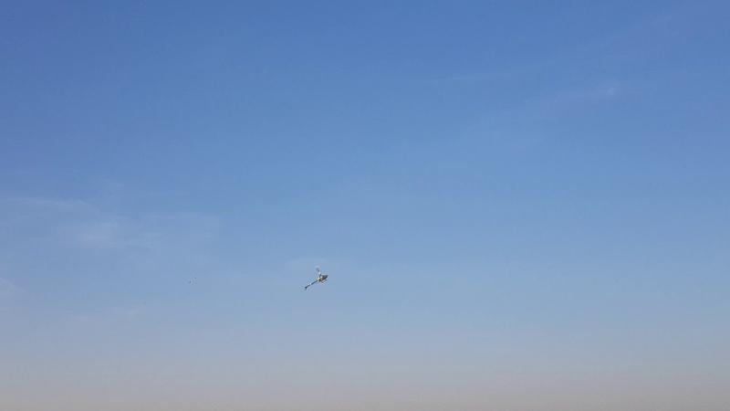 Gaui X3 полёт второй,14.06.19 оператор дочь Аня