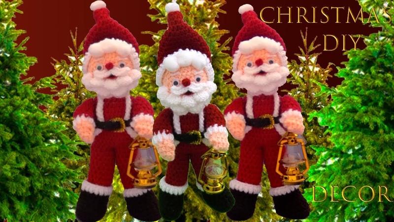 Ideas de Navidad 2019 decora bonito y económico como hacer Papa Noel Christmas decor