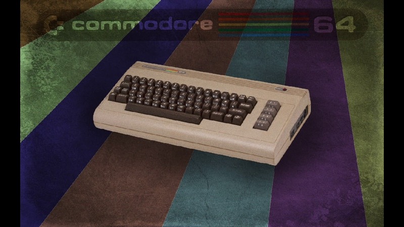 Old School Commodore 64 Duotris full ost soundtrack