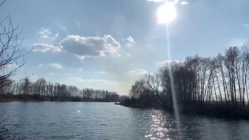 Липецкая Область Рыбалка Вид с высоты птичьего полёта MavicAir iPhonexsmax