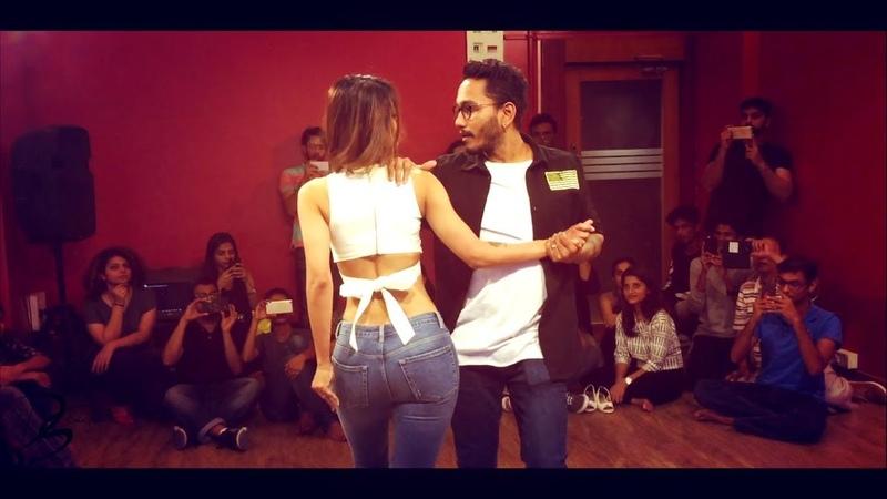 Cornel and Rithika Bachata Sensual Charlie Puth Attention DJ Selphi Bachata Remix
