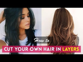 How to Cut Your Own Hair In Layers ✂️ DIY Haircuts Tutorials